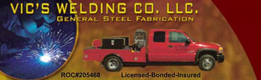Vic's Welding Logo